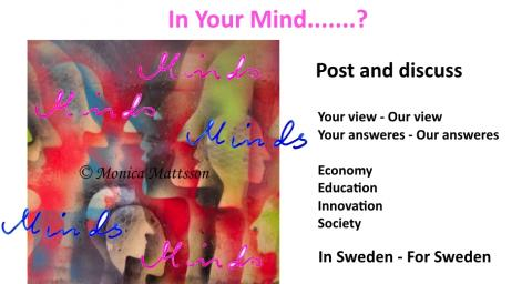 On your Mind....? Post & Discuss Your view - Our view  Your answeres - Our answeres  Economy  Education  Innovation  Society